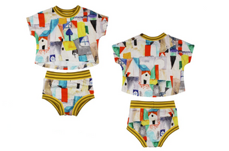 Toto Houses Print Outfit