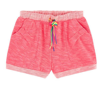 Heather Multi Color String Shorts