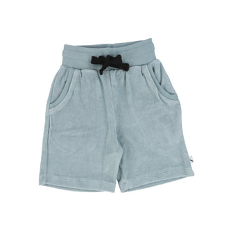 Arona Blue Solid Shorts