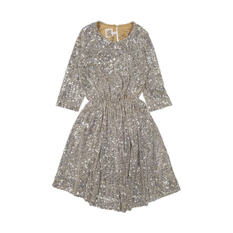 Cora Face Powder Sequin Dress