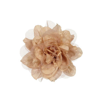 Federica Peach Flower Brooch