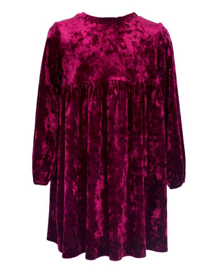 Jude Purple Velvet Dress