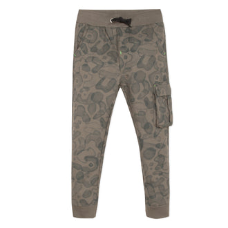 Amazonia Trip Khaki Leaves Sweatpants