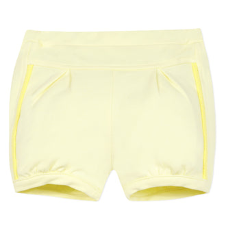 Valencia Yellow Bloomer Shorts
