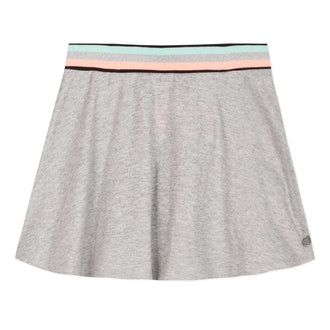 Arty Miami Grey Flare Skirt