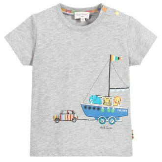 Aldred Grey Boat Tee