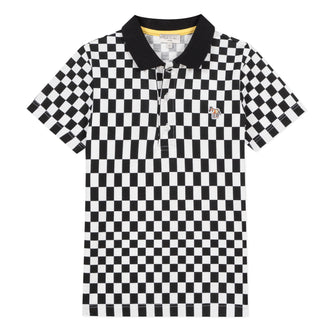 Alexei Black&White Check Polo