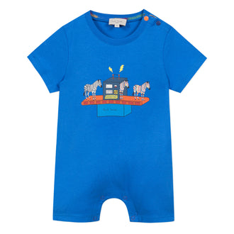 Alexio Royal Blue Boat Romper