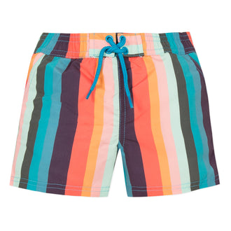 Avento Multi Striped Swimshorts
