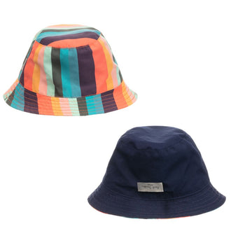 Aidano Striped Reversible Hat