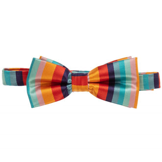 Talal Multi Striped Bowtie