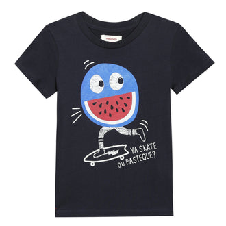 Blue Fruit Skater Tee