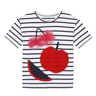 Rouge Stripes Fruity Tee