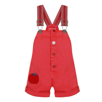 Rouge Cerise Overalls