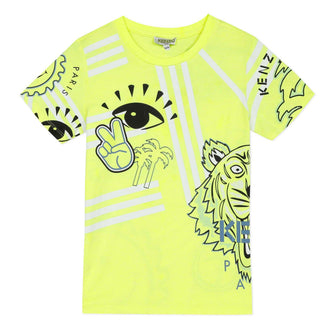 Cali Party Joshua Neon Logo Tee