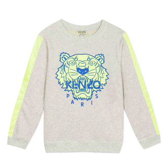 Tiger Grey Neon Tiger Sweatshirt