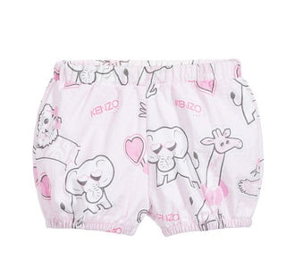 Mini Girl Jamcova Pink Print Bloomer