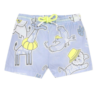Mini Boy Jilroy Light Blue Shorts