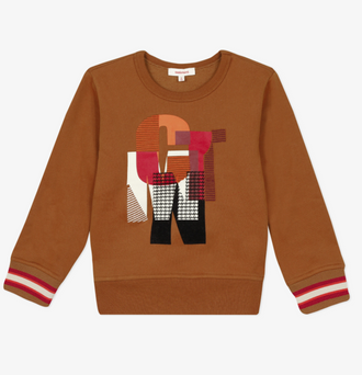 Rouge Caramel Graphic Sweatshirt