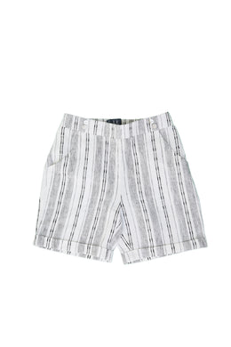 Black White Shorty Bermudas