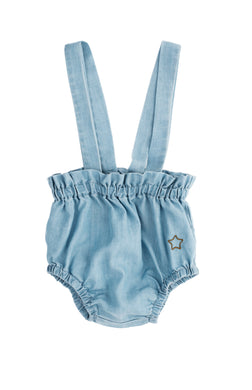 Chambray Bloomers with Suspender