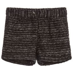 Cosmic Girl Black Shorts