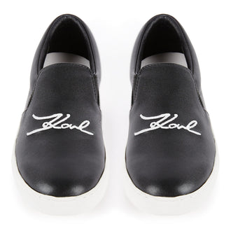 Black Signiture Sneakers