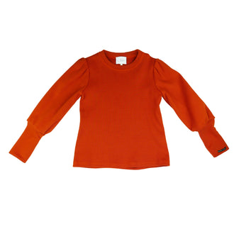 Vera Brick Ribbed Jersey Top