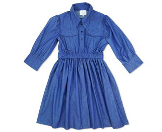 Bonnie Chambray Blue Dress