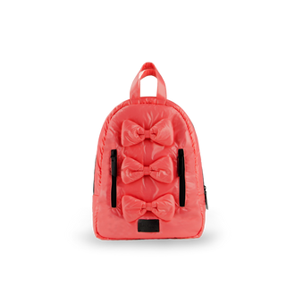 Coral Mini Bows Backpack