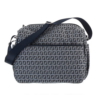 Fendi Navy Logo Baby Bag