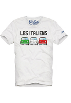 Ita White Cars Tee