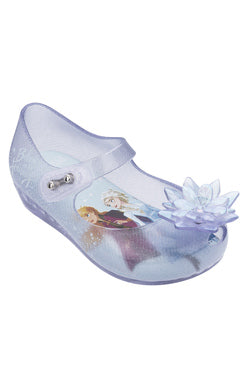 Glass Glitter Blue Frozen Ultra Shoe
