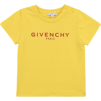 Yellow Logo Rubber Shirt