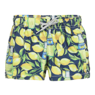Lemon Drink Swim Shorts