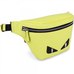 Neon Monster Eye Fanny Pack