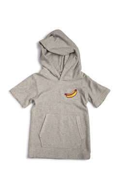 Heather Mist Hooded Tee