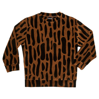 Bark Print Sweater