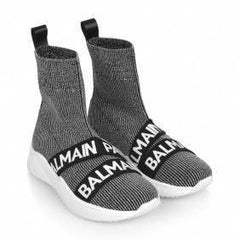Mettalic Sock Trainers
