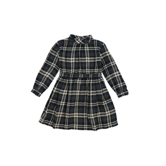 Frida Grey Plaid Dress
