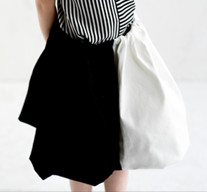 Choose Black/White Skirt