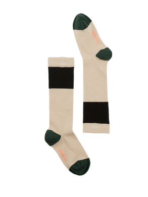 Color Block High Socks