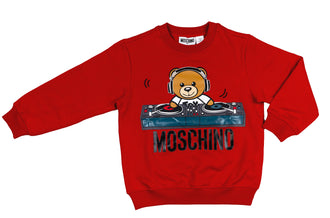 Red Dj Bear Sweatshirt