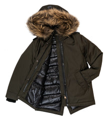 Army Hooded Jacket