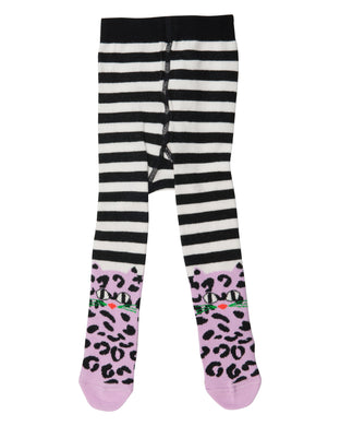 Leo Cat Striped Tights