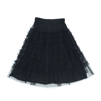 Benedith Black Long Skirt