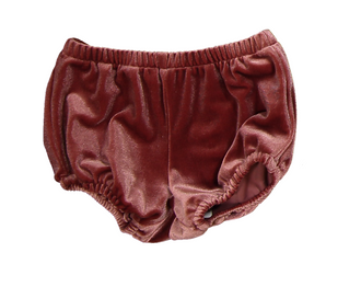 Dusty Pink Velvet Bloomers