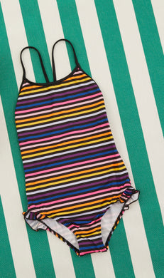 Elanor Striped Swimsuit