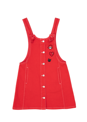 Emilande Red Jumper With Badges