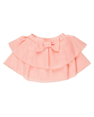 Fancy Pink Striped Skirt